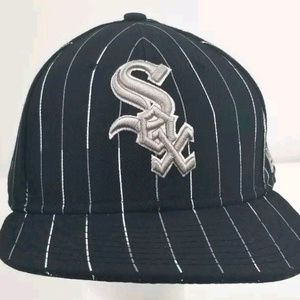 Chicago White Sox Pinstripe New Era 59fifty Fitted